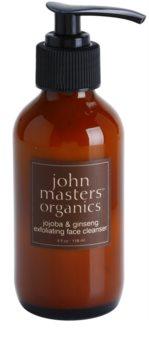 John Masters Organics All Skin Types esfoliante detergente viso