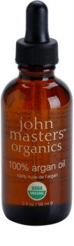 John Masters Organics 100% Argan Oil regenerační olej na tvář, tělo a vlasy