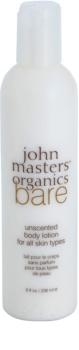 John Masters Organics Bare latte corpo senza profumazione
