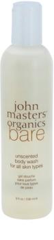 John Masters Organics Bare sprchový gel bez parfemace