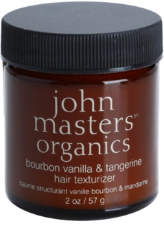 John Masters Organics Bourbon Vanilla & Tangerine stylingová pasta pre dokonalý vzhľad vlasov