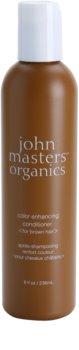 John Masters Organics Color Enhancing балсам за съживяване на коса в кафяви тонове