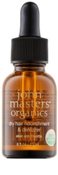 John Masters Organics Dry Hair Nourishment & Defrizzer ухаживающее масло для разглаживания волос