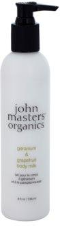 John Masters Organics Geranium & Grapefruit Bodylotion