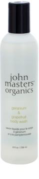 John Masters Organics Geranium & Grapefruit gel doccia