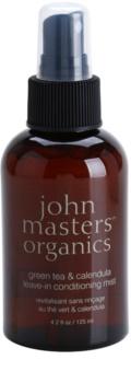 John Masters Organics Green Tea & Calendula acondicionador en spray sin enjuague antiencrespamiento