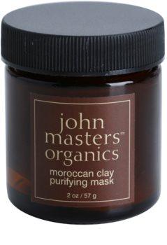 John Masters Organics Oily to Combination Skin почистваща маска за лице