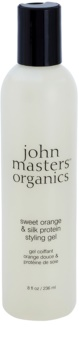 John Masters Organics Sweet Orange & Silk Protein gel za stiliziranje