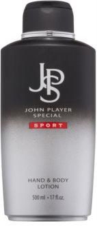 John Player Special Sport leite corporal para homens 500 ml