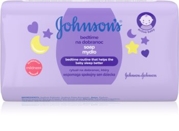 Johnson's Baby Bedtime Bar Soap for Kids