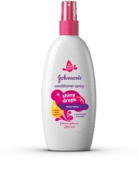 Johnson's Baby Shiny Drops Leave-in spraybalsam Med arganolja