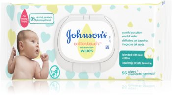 Johnsons's® Cottontouch salviette detergenti umidificate ultra-delicate per neonati