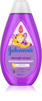 Johnson's® Strenght Drops Energising Shampoo for Kids