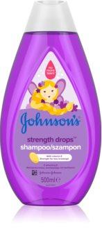 Johnson's® Strenght Drops stärkendes Shampoo für Kinder