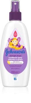 Johnson's® Strenght Drops balsam pentru indreptare pentru copii