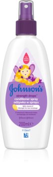 Johnson's® Strenght Drops Strenghtening Conditioner for Kids