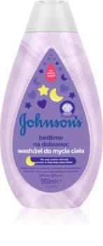 Johnson's® Bedtime gel de curățare pentru un somn liniștit pentru pielea bebelusului