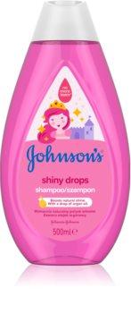 Johnson's® Shiny Drops sampon delicat pentru copii