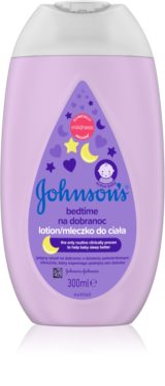 Johnson's Baby Care lait corps bébé pour un bon sommeil
