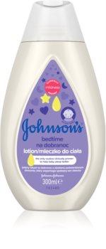 Johnson's® Care gyermek testápoló tej a kellemes alvásért