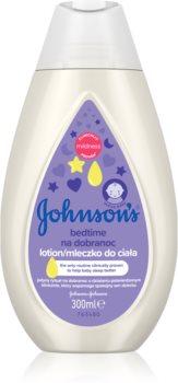 Johnson's® Care lait corps bébé pour un bon sommeil