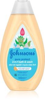 Johnson's Baby Wash and Bath gel bagno e doccia per bambini
