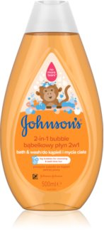 Johnson's® Wash and Bath νερό με φυσαλλίδες και τζελ πλυσίματος 2 σε 1