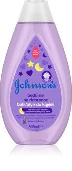 Johnson's® Bedtime Rauhoittava Kylpy Vastasyntyneille Lapsille