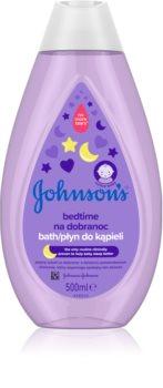 Johnsons's® Bedtime успокаивающая ванна для детей с рождения