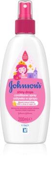 Johnson's® Shiny Drops ausspülfreier Conditioner im Spray mit Arganöl