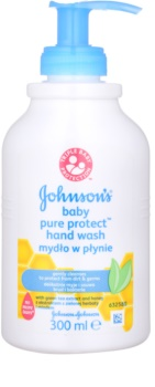 Johnson's Baby Pure Protect sabão liquido para mãos para crianças