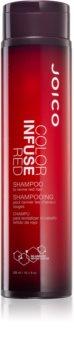 Joico Color Infuse Red шампоан за защита на боядисана коса за коса с червени нюанси