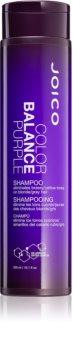 Joico Color Balance Purple šampon za plavu kosu neutralizirajući žuti tonovi