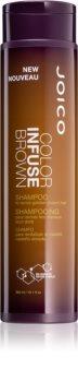 Joico Color Infuse Brown hydratačný šampón pre hnedé a  tmavé odtiene vlasov