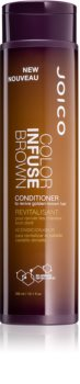 Joico Color Infuse Brown Conditioner For Brown To Dark Hair