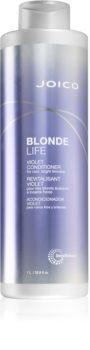 Joico Blonde Life violetter Conditioner für blondes und meliertes Haar
