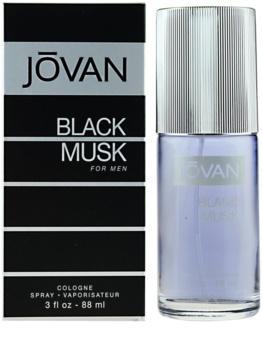 Jovan Black Musk eau de cologne pentru bărbați