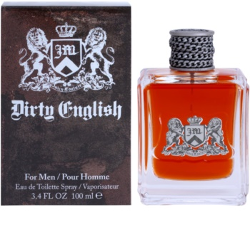Juicy Couture Dirty English Eau de Toillete για άνδρες 100 μλ
