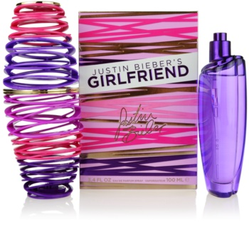 Justin Bieber Girlfriend Eau de Parfum for Women