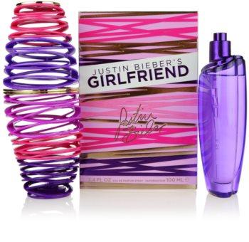 Justin Bieber Girlfriend Eau de Parfum para mujer