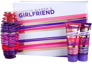 Justin Bieber Girlfriend set cadou I. pentru femei