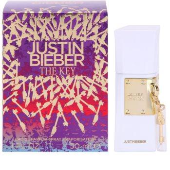 Justin Bieber The Key Eau de Parfum voor Vrouwen
