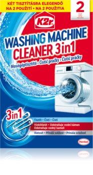 K2r Washing Maschine Cleaner puhdistusaine pesukoneeseen