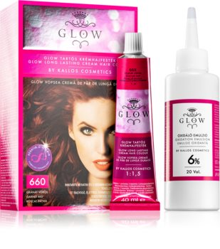 Kallos Glow trajna boja za kosu