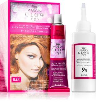 Kallos Glow permanentní barva na vlasy