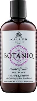 Kallos Botaniq Superfruits shampoo rinforzante con estratti vegetali