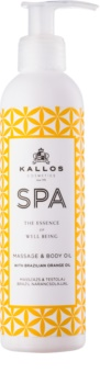 Kallos Spa huile de massage