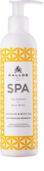 Kallos Spa olio per massaggi