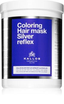 Kallos Silver Reflex maska za kosu neutralizirajući žuti tonovi
