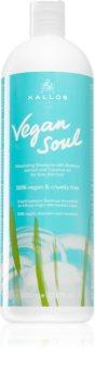 Kallos Vegan Soul Volumen-Shampoo für feines oder schütteres Haar